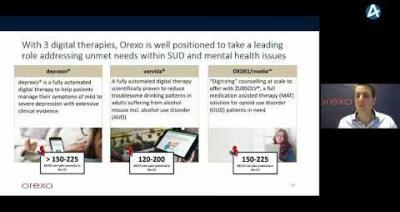 Embedded thumbnail for Orexo (engelska) – Stora Aktiedagen Stockholm 2 december 2020