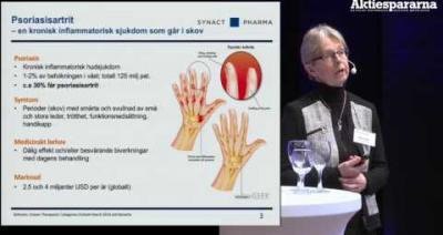 Embedded thumbnail for Aktiedagen Jönköping – SynAct Pharma