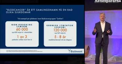 Embedded thumbnail for Aktiedagen Malmö - Bioinvent