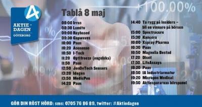 Embedded thumbnail for Följ Aktiedagen Göteborg 8 maj live