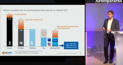 Embedded thumbnail for Aktiedagen Malmö - Wilson Therapeutics