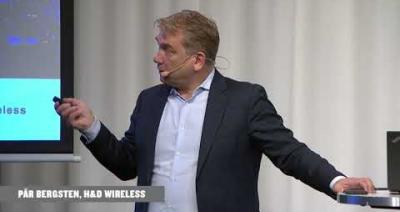 Embedded thumbnail for H&D Wireless - Aktielunchen Stockholm 2019