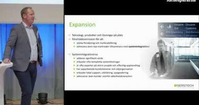 Embedded thumbnail for Aktiedagen Lund – Serstech