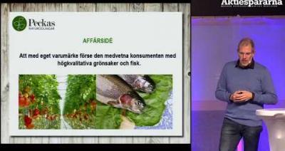 Embedded thumbnail for Aktiedagen Malmö - Peckas Naturodlingar