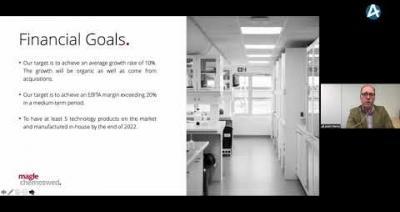 Embedded thumbnail for Magle Chemoswed - Småbolagsdagen Stockholm den 9 juni 2020