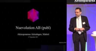 Embedded thumbnail for Aktiedagen Malmö - Nuevolution