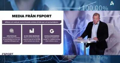 Embedded thumbnail for FSport – Aktiedagen Stockholm 7 september 2021