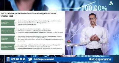 Embedded thumbnail for PledPharma – Aktiedagen digitalt 19 oktober 2020