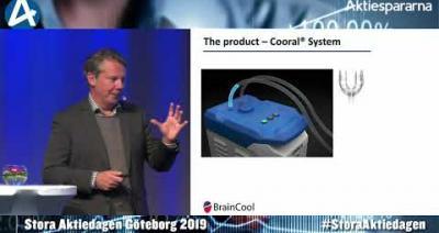 Embedded thumbnail for BrainCool – Stora Aktiedagen Göteborg 4 november 2019