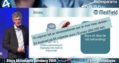 Embedded thumbnail for Medfield Diagnostics – Stora Aktiedagen Göteborg 4 november 2019