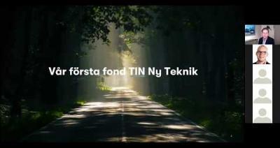 Embedded thumbnail for Stora Fondkvällen digitalt – Tin Fonder