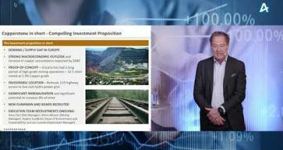 Embedded thumbnail for Copperstone Resources - Stora Aktiedagen Stockholm digitalt 1 december 2020