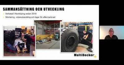 Embedded thumbnail for MultiDocker Cargo Handling - Aktiedagen Stockholm 4 maj 2020