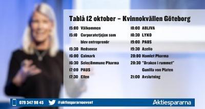 Embedded thumbnail for Följ Kvinnokvällen Göteborg 12 oktober live