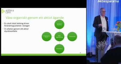 Embedded thumbnail for Aktiedagen Stockholm 5 mars – AdderaCare