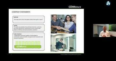 Embedded thumbnail for GomSpace Group - Stora Aktiedagen Göteborg digitalt 9 november 2020