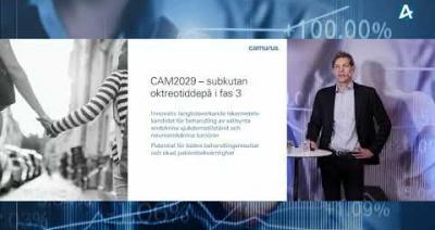 Embedded thumbnail for Camurus – Aktiedagen Lund 27 januari 2021