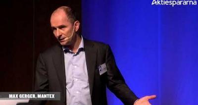 Embedded thumbnail for Mantex – Stora Aktiedagen Göteborg 2018