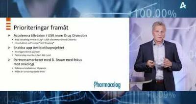 Embedded thumbnail for Pharmacolog – Småbolagsdagarna 8 juni 2021