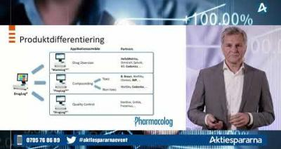 Embedded thumbnail for Pharmacolog - Småbolagsdagen Stockholm den 10 juni 2020