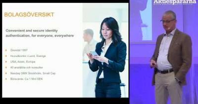 Embedded thumbnail for Aktiedagen Malmö – Precise Biometrics