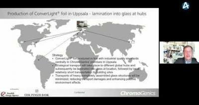 Embedded thumbnail for ChromoGenics - Stora Aktiedagen Stockholm digitalt 1 december 2020