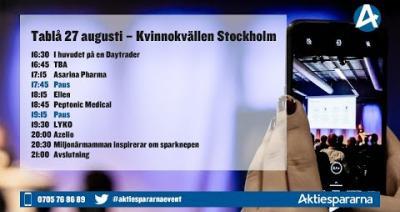 Embedded thumbnail for Följ Kvinnokvällen Stockholm live