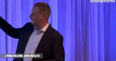 Embedded thumbnail for Aktiedagen Stockholm – Aino Health