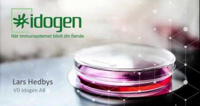 Embedded thumbnail for Aktiedagen Stockholm 2 maj – Idogen