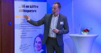 Embedded thumbnail for Stora Aktiedagen Stockholm – Peptonic Medical