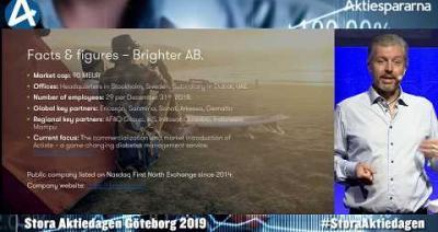 Embedded thumbnail for Brighter – Stora Aktiedagen Göteborg 4 november 2019