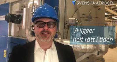 Embedded thumbnail for Hisspitch – Svenska Aerogel