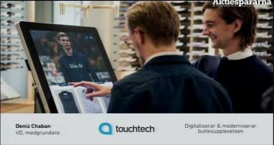 Embedded thumbnail for Aktiedagen Falköping – Touchtech