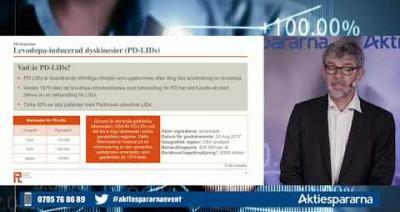 Embedded thumbnail for IRLAB Therapeutics - Aktiedagen Göteborg 18 maj 2020