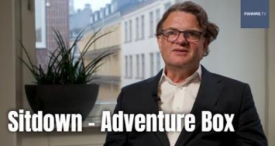 Embedded thumbnail for Analysguiden, intervju med Adventure Box Vd Christopher Kingdon   Aktiespararna