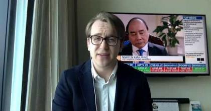 """Embedded thumbnail for """"Börsen i Sydkorea går fantastiskt - trots oron"""""""