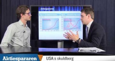 Embedded thumbnail for Aktiespararen TV: Varning för det amerikanska skuldberget - Del 2/4
