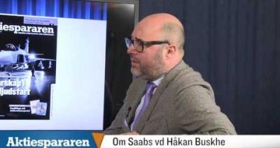 Embedded thumbnail for Aktiespararen TV: Vd-intervju med SAAB - Del 3/4